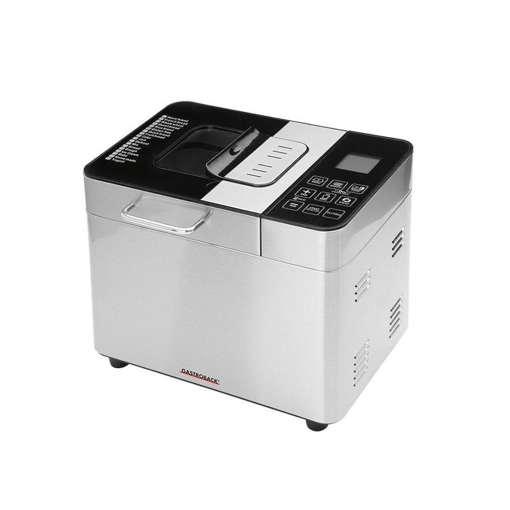 Gastroback Brotbackautomat »42823 Advanced«, 18 Programme, 550 W