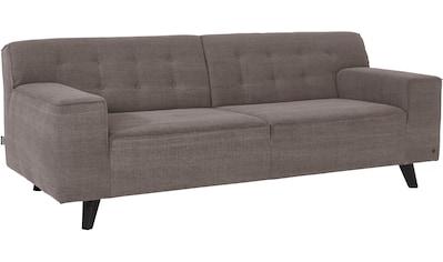 TOM TAILOR 2,5-Sitzer »NORDIC CHIC«, im Retrolook, Füße wengefarben kaufen