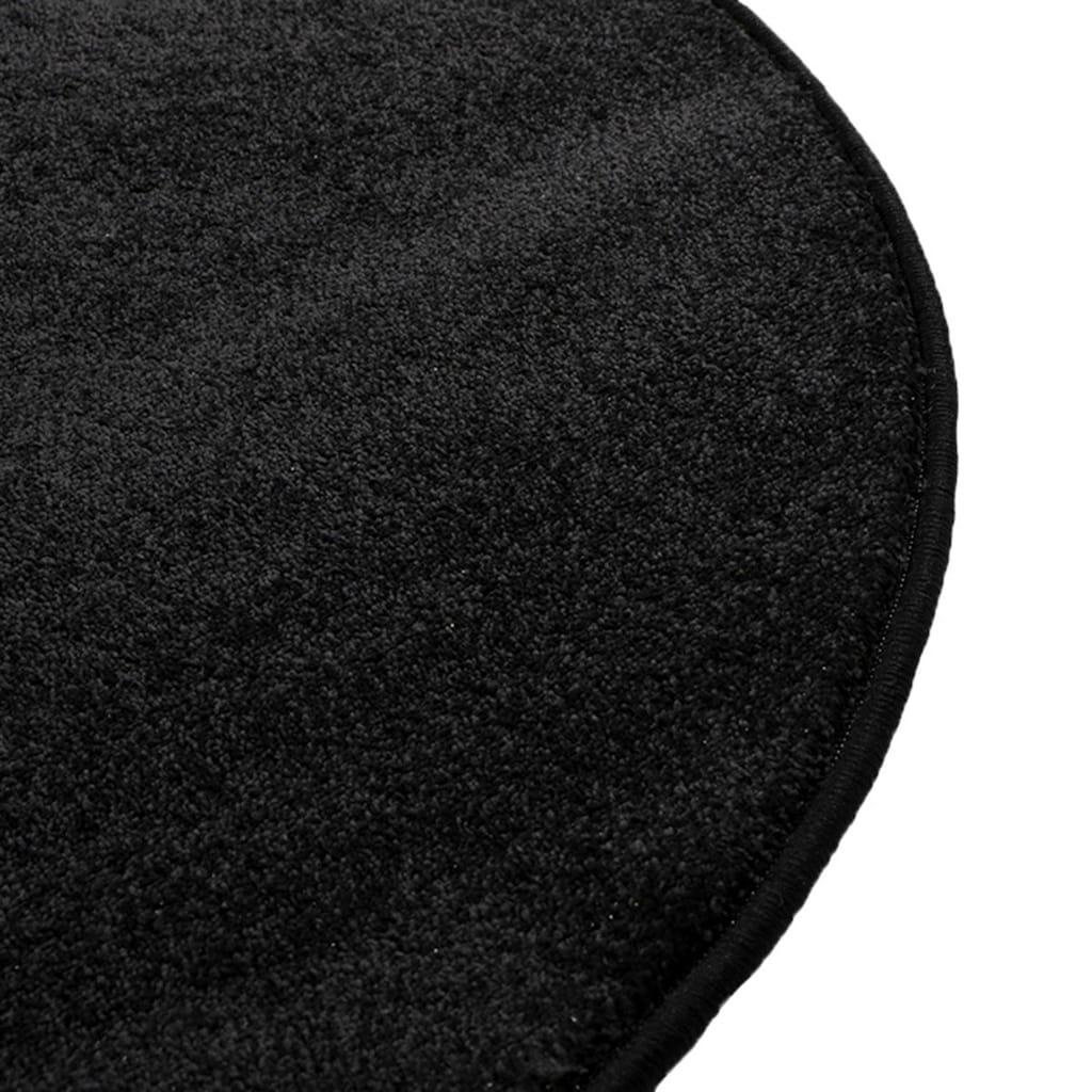Living Line Teppich »Dream rund«, rund, 13 mm Höhe, Velours, Wohnzimmer