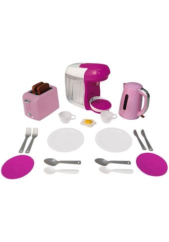 Klein Kinder-Küchenset »Bosch Haushalt Frühstückset«, mit Toaster, Kaffeemaschine,... kaufen
