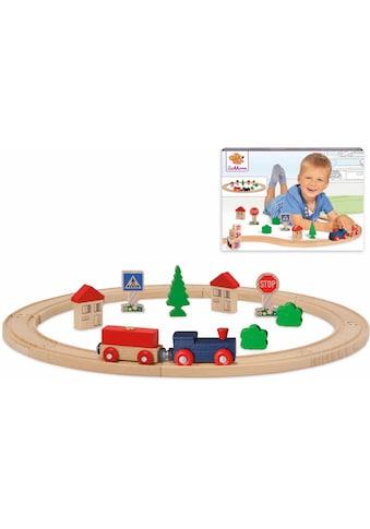 Eichhorn Spielzeug-Eisenbahn »Kreis, 20-tlg.«, aus Holz; Made in Europe kaufen