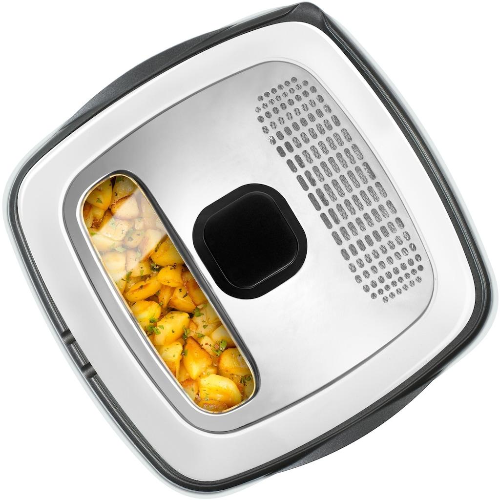 Tefal Fritteuse »deLuxe FR4950«, 1600 W, mit Pfannenwender, Fassungsvermögen 1,3 kg, Innenbehälter herausnehmbar und antihaftbeschichtet