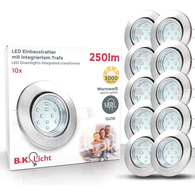 B.K.Licht,LED Einbaustrahler
