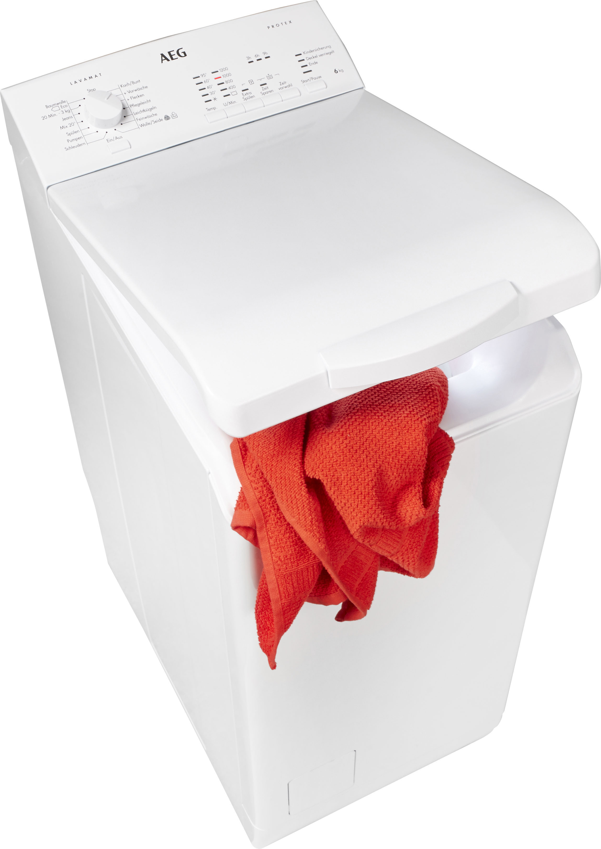 AEG Waschmaschine Toplader L51260TL   Bad > Waschmaschinen und Trockner > Toplader   AEG