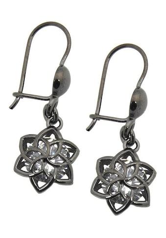 Der Herr der Ringe Paar Ohrhaken »Dark Years Collection Nenya  -  schwarz weiß, 20002202« kaufen