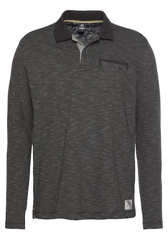 LERROS Langarm-Poloshirt »Rugby«, mit Brusttasche kaufen