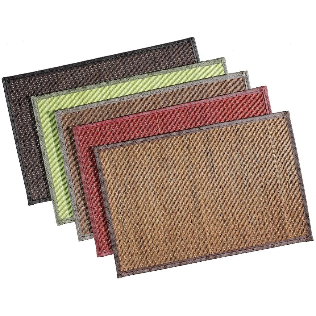 Ritzenhoff & Breker Platzset »Timber«, (Set, 6 St.), 30 x 45 cm