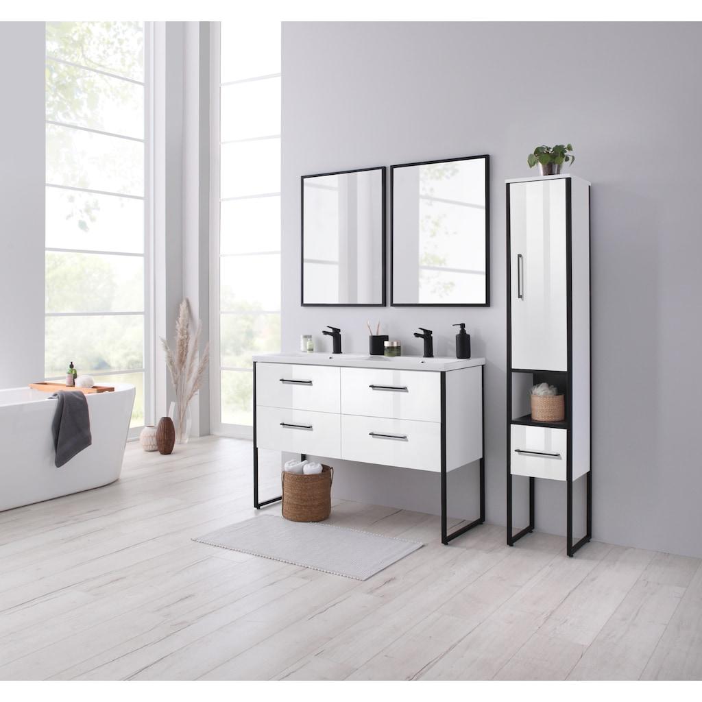 welltime Waschtisch »Paris«, Premium Badmöbel in Breite 120 cm