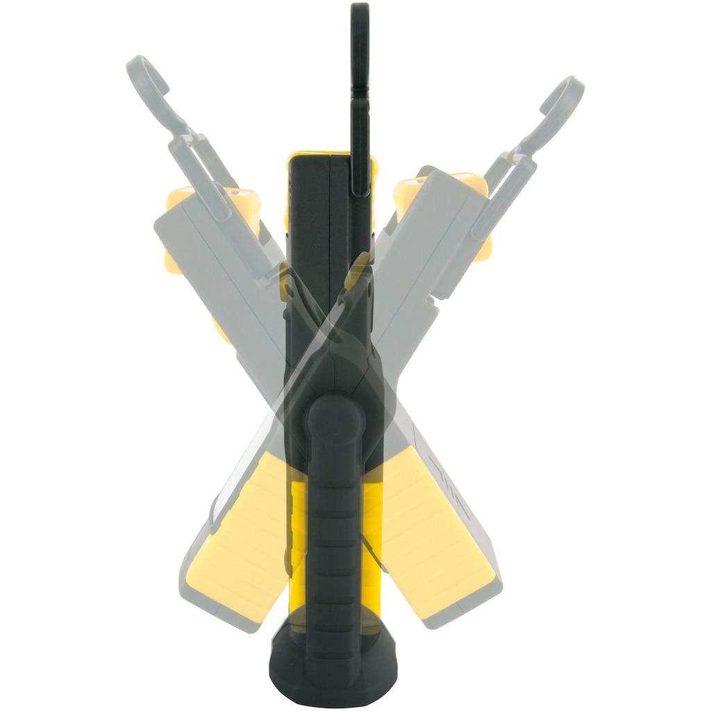 SCHWAIGER Arbeitsleuchte mit zwei LEDs, verstellbar, Magnethalter, IP44 »spritzwassergeschützt«