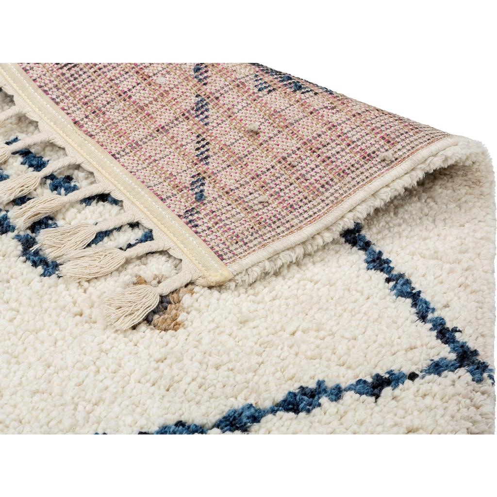 SCHÖNER WOHNEN-Kollektion Hochflor-Teppich »Urban 181«, rechteckig, 30 mm Höhe, Besonders weich durch Microfaser