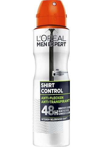 L'ORÉAL PARIS MEN EXPERT Deo-Spray »Shirt Control«, Schützt vor weißen Rückständen & Textilverhärtungen kaufen