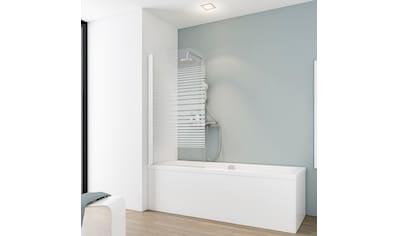SCHULTE Badewannenaufsatz »Wega«, 1 - tlg., teilgerahmt, BxH: 80 x 140 cm kaufen
