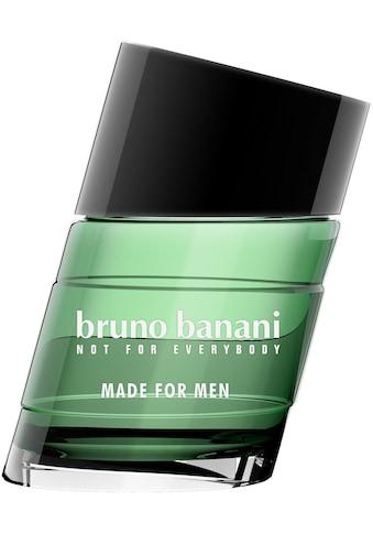 "Bruno Banani Eau de Toilette ""Made for Men"" kaufen"