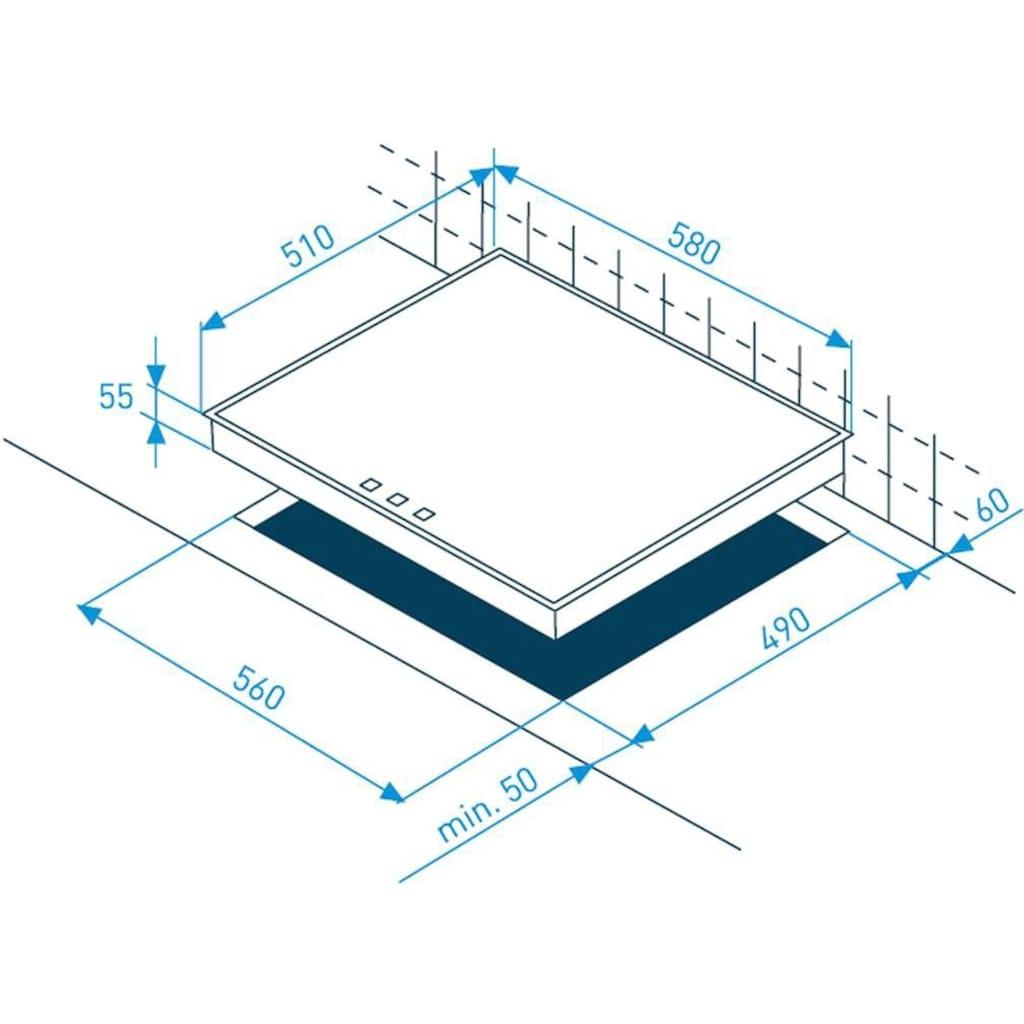 Grundig Induktions Herd-Set »GEHM 34201 X«, GEHM 34201 X, GEHM 34201 X, (Set), animiertes LC-Display