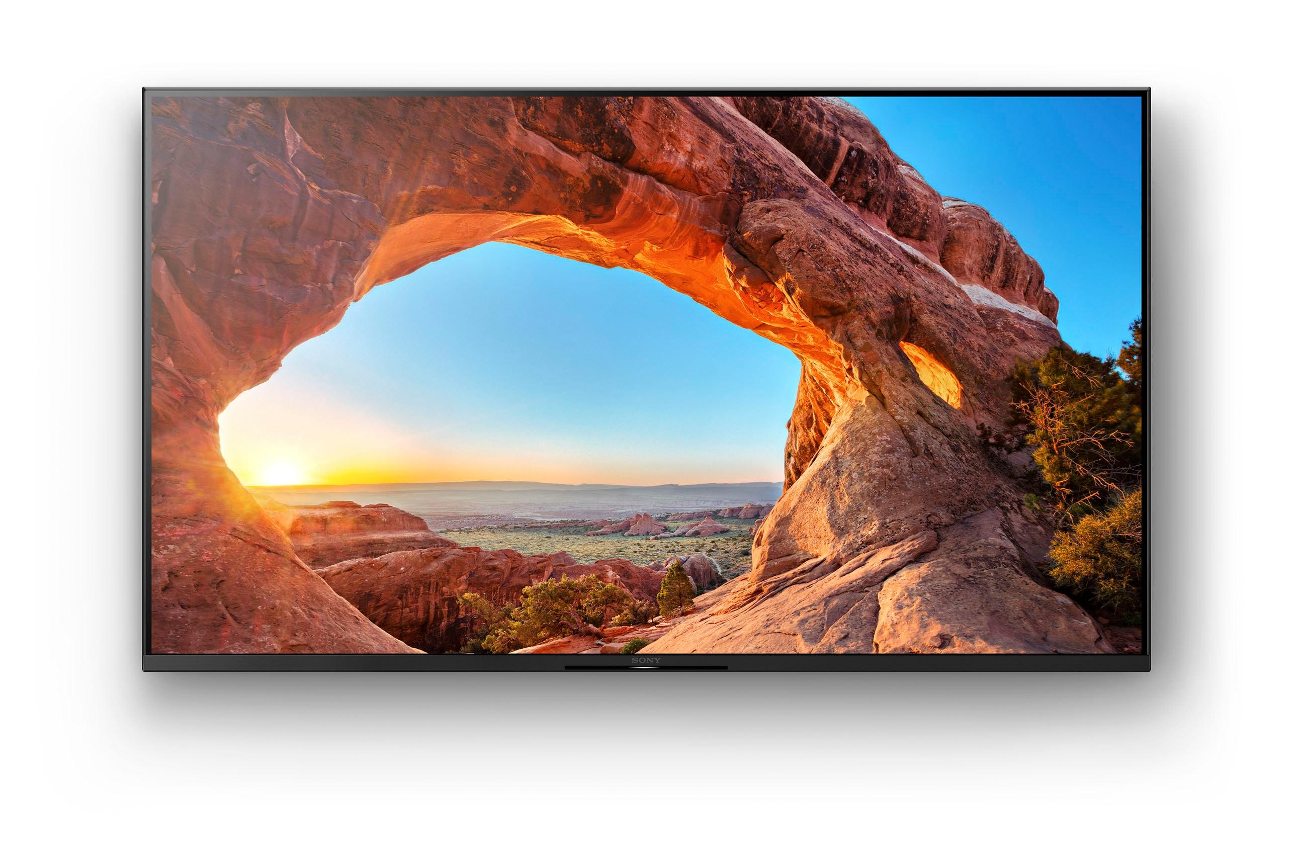 Sony LCD-LED Fernseher KD-50X85J , 126 cm 50 , 4K Ultra HD, Google TV, Smart TV