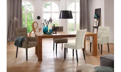 Home affaire Polsterstuhl »Queen«, Esszimmerstuhl mit Knopfheftung, 2er, 4er oder 6er Set kaufen