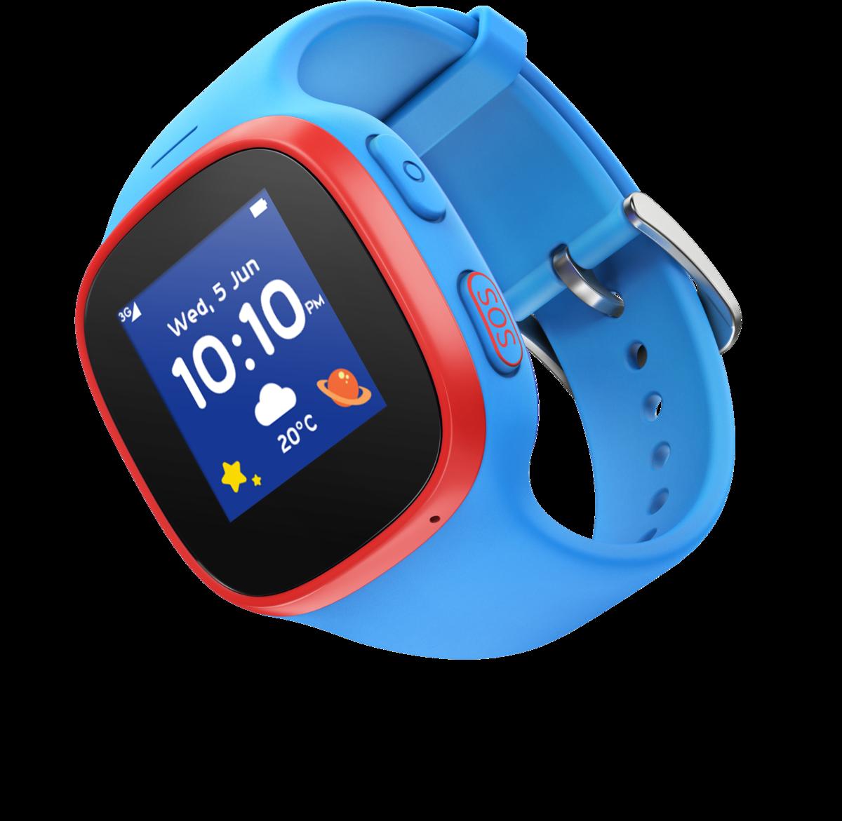 Vodafone Smartwatch »V-Kids Band« | Uhren > Smartwatches | Blau | Wo | Vodafone