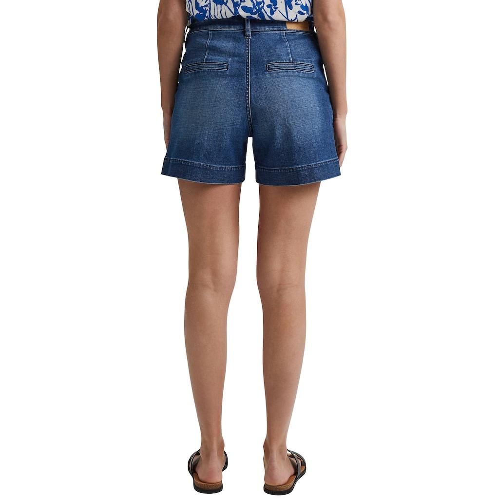 Esprit Shorts, mit abgestepptem Umschlag