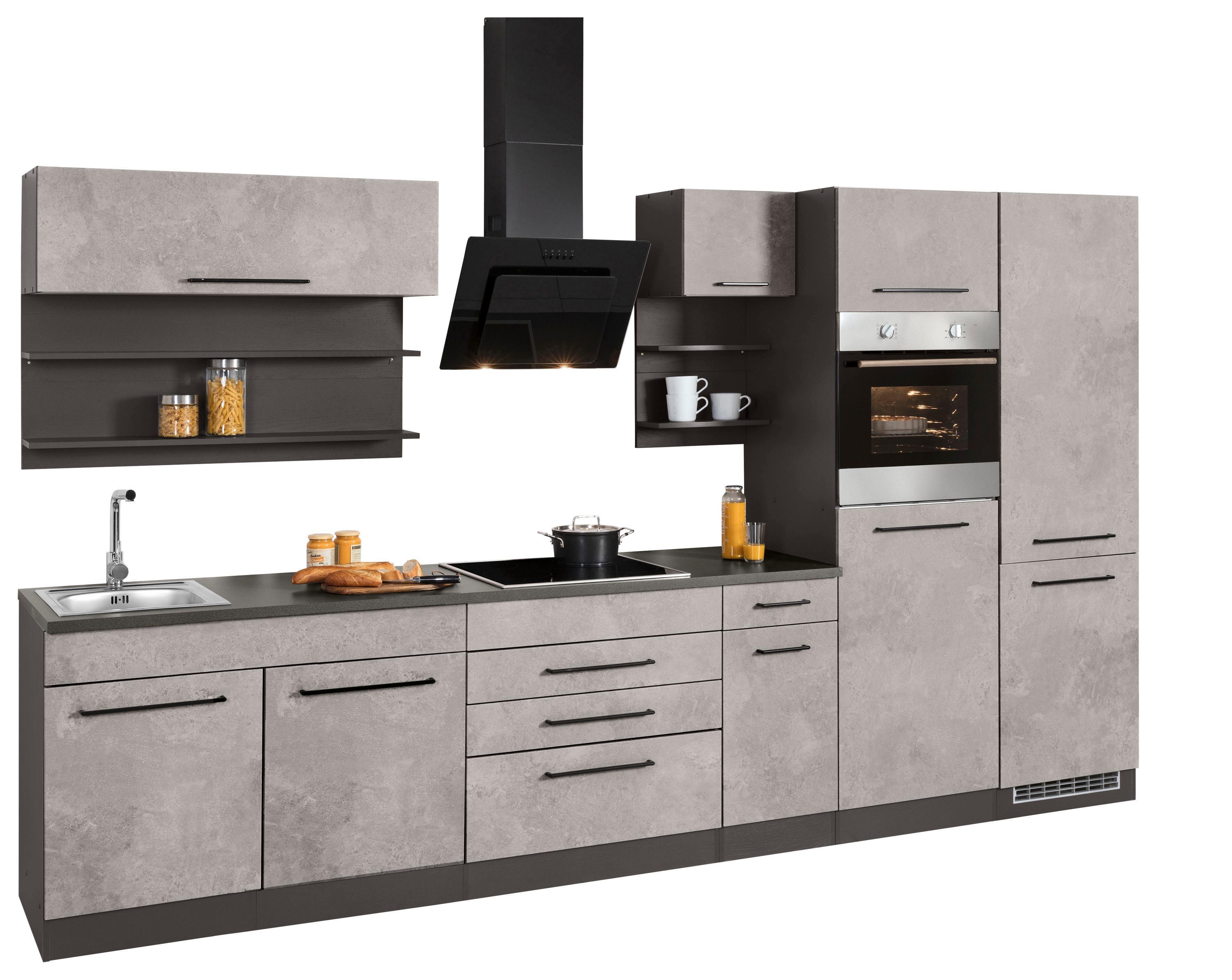 HELD MÖBEL Küchenzeile ohne E-Geräte »Tulsa«, Breite 330 cm