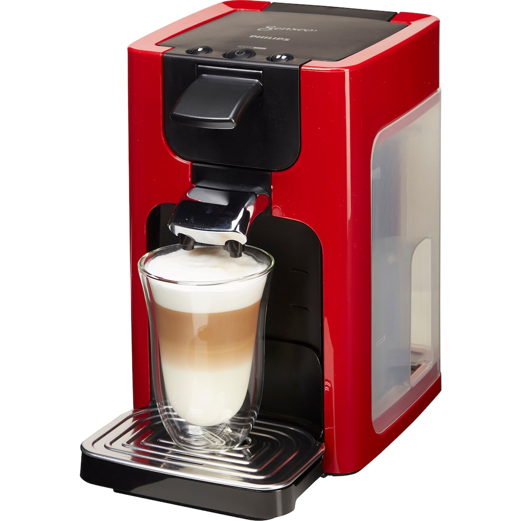 Senseo Kaffeepadmaschine »SENSEO® Quadrante HD7865/80«, inkl. Gratis-Zugaben im Wert von € 5,- UVP