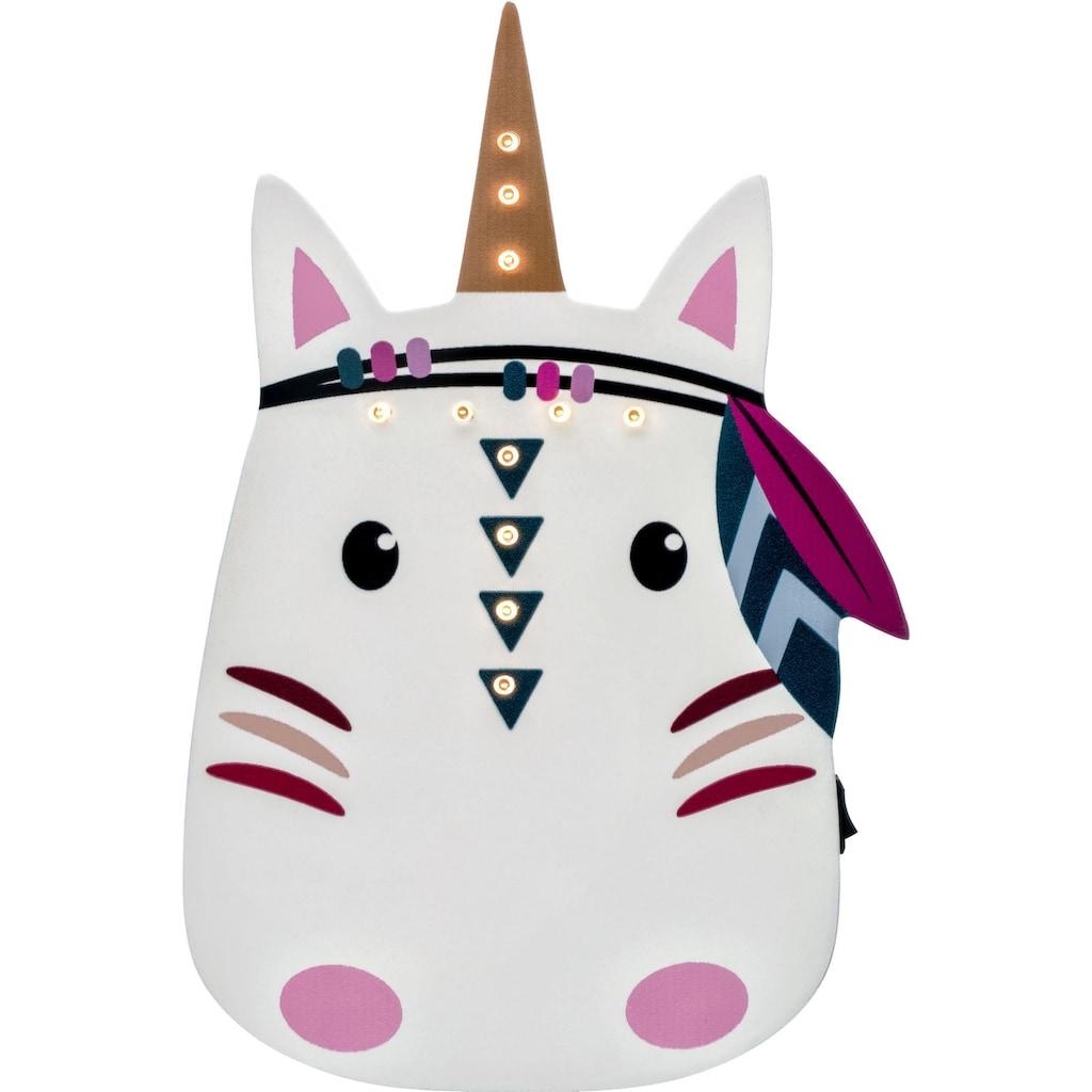 Pauleen Wandleuchte »Lovely Unicorn«, Warmweiß, Einhorn