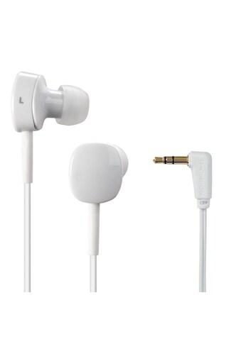 Thomson EAR3056W Kopfhörer, In - Ear, Winkelstecker, Weiß kaufen