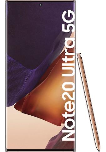 Samsung Galaxy Note20 Ultra 5G Smartphone (17,45 cm / 6,9 Zoll, 256 GB, 108 MP Kamera) kaufen