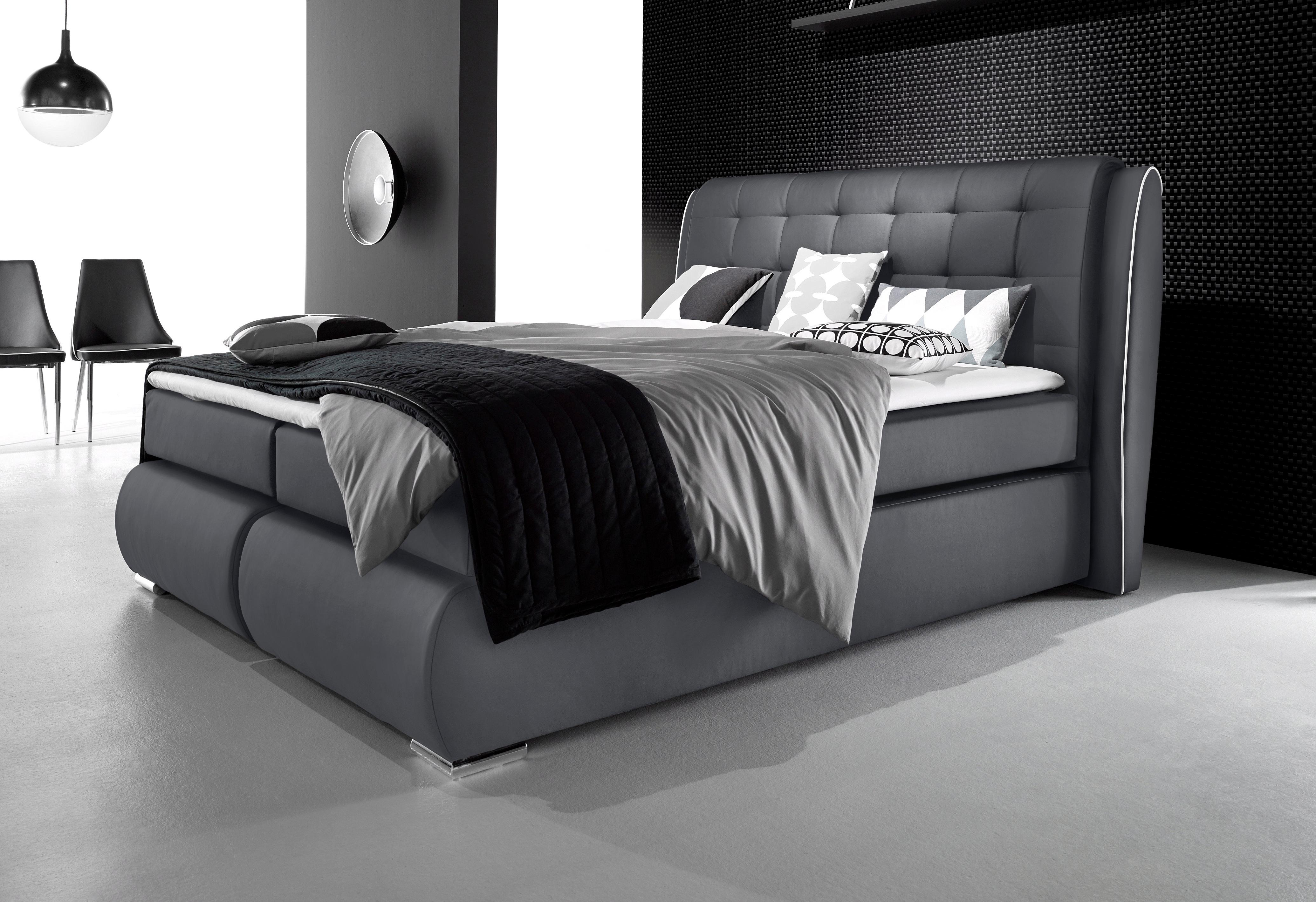inosign boxspringbett manacor auf rechnung kaufen. Black Bedroom Furniture Sets. Home Design Ideas