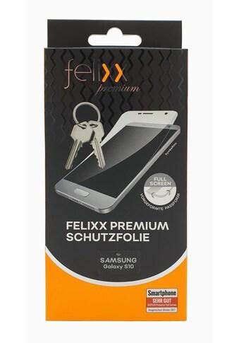 felixx Folie »Schutzfolie für Samsung Galaxy S10« kaufen