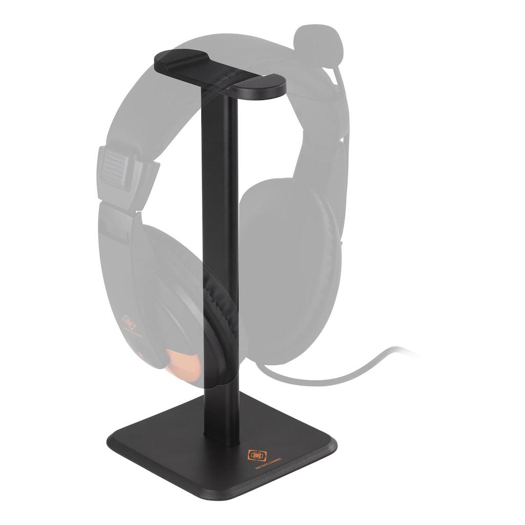 DELTACO gaming Kopfhörerständer universal rutschfest