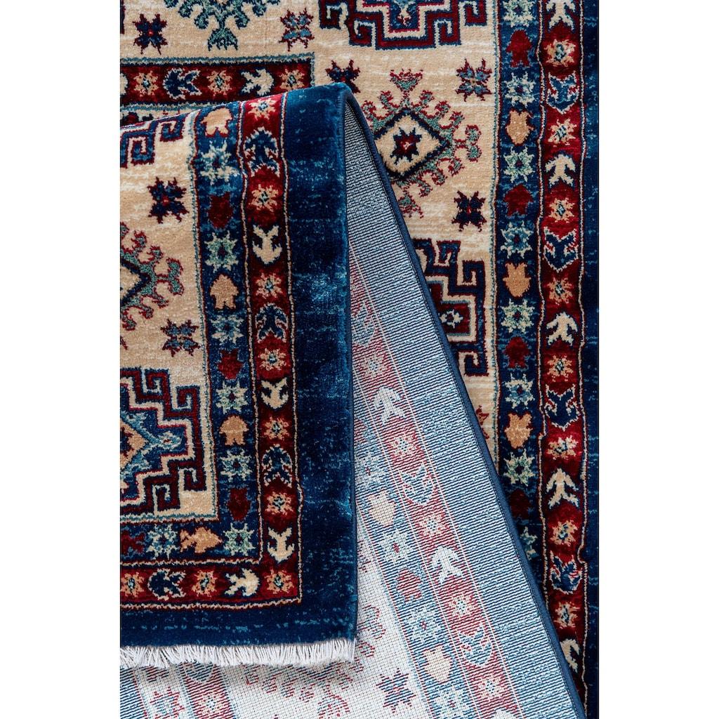 Sehrazat Läufer »Ornament 1354«, rechteckig, 10 mm Höhe, Kurzflor, Orient-Optik, mit Fransen