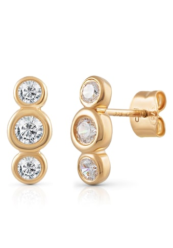 Firetti Paar Ohrstecker »runde Elemente, glänzend« kaufen