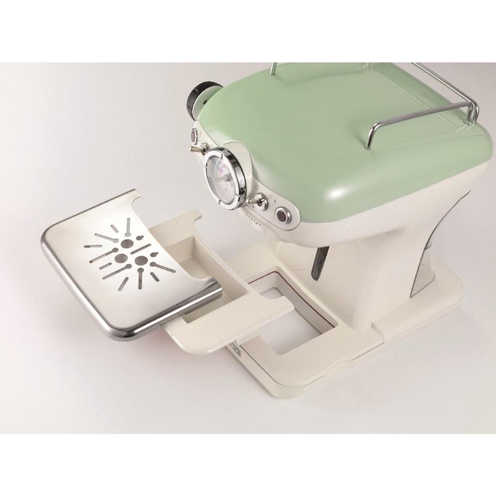 Ariete Espressomaschine 1389 Vintage grün-weiß