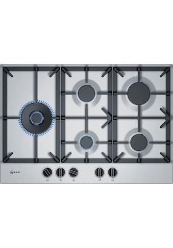 NEFF Gas-Kochfeld »T27DS79N0D«, T27DS79N0D, mit integrierten Kochstellenreglern kaufen