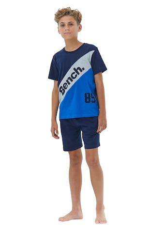 Bench. Shorty, mit Colourblock und Logo Schriftzug kaufen