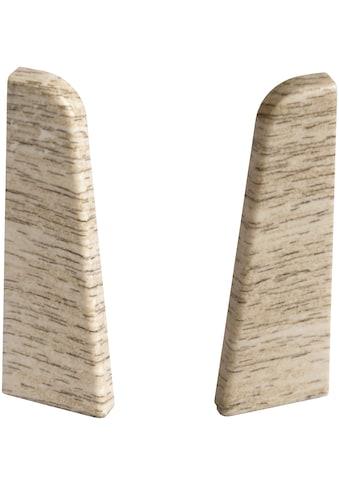 EGGER Endstücke »Eiche mittelbraun«, für 6 cm Sockelleiste kaufen