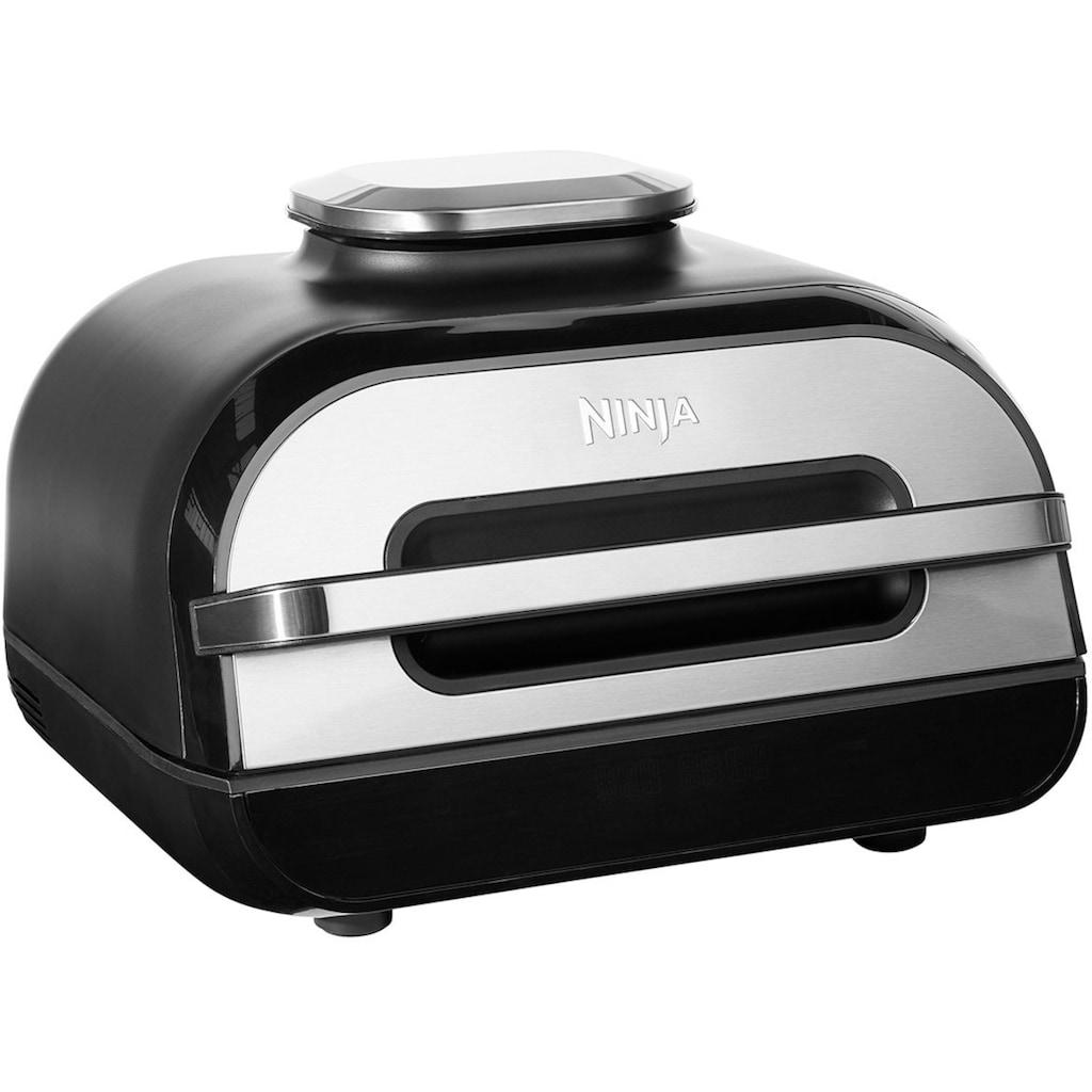 NINJA Heissluftfritteuse »und Grill Foodi MAX AG551EU«, 2460 W, 3,8 L Volumen, incl digitalem Temperaturfühler und weiterem Zubehör