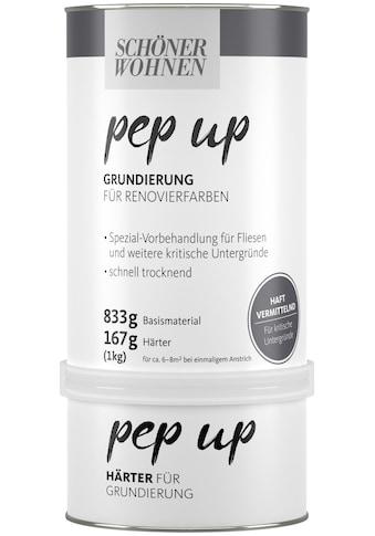 SCHÖNER WOHNEN-Kollektion Grundierfarbe »pep up - weiß«, für Renovierfarben, matt, 1 kg kaufen