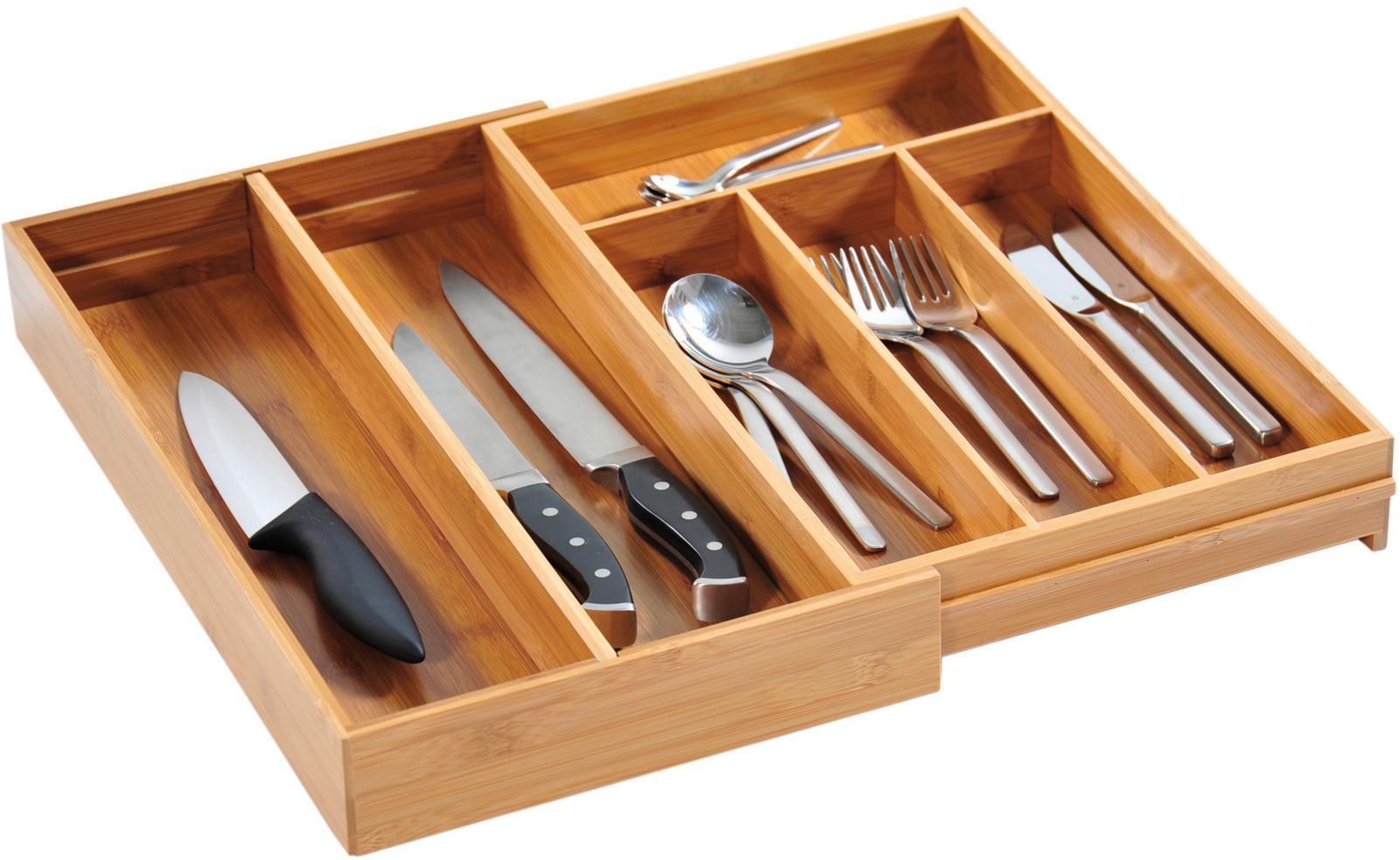 KESPER for kitchen & home Besteckkasten | Küche und Esszimmer > Küchen-Zubehör > Halter und Haken | Bambus | KESPER FOR KITCHEN & HOME