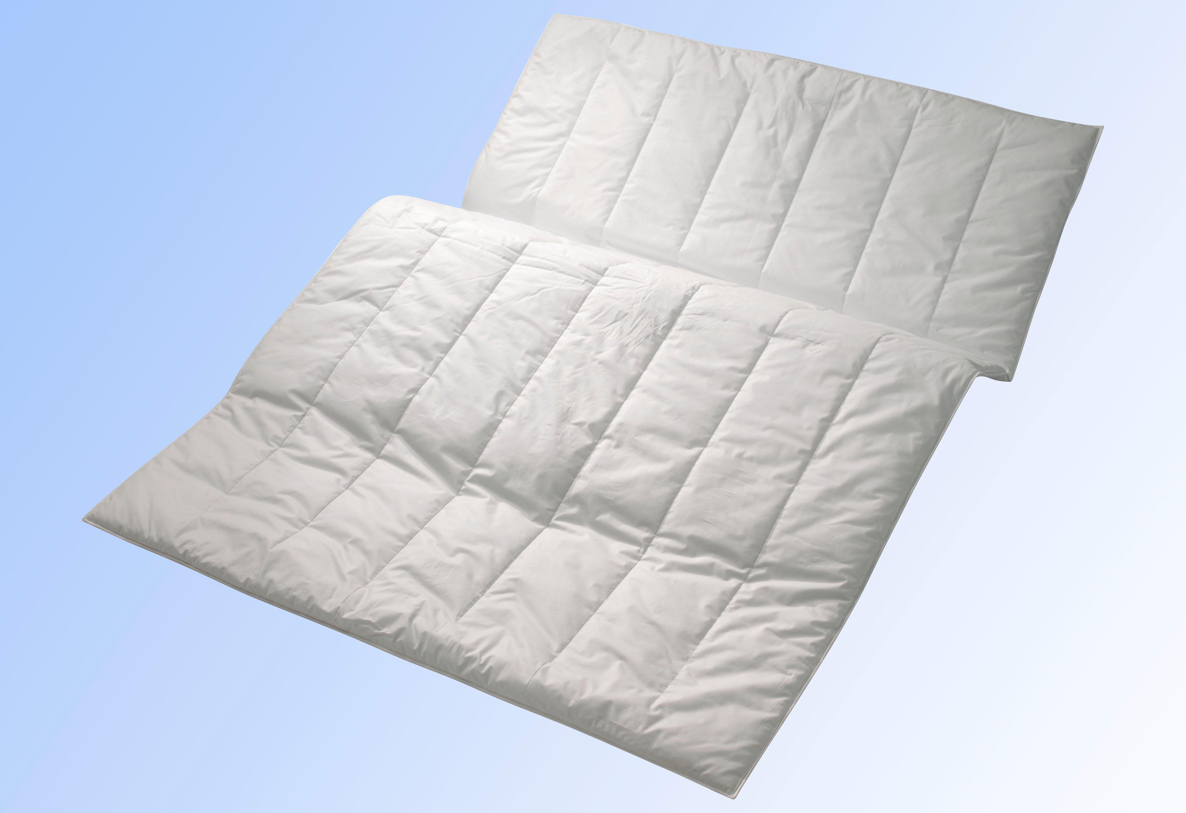 Microfaserbettdecke, »Sport Line«, Centa-Star, Bezug: 100% Baumwolle günstig online kaufen
