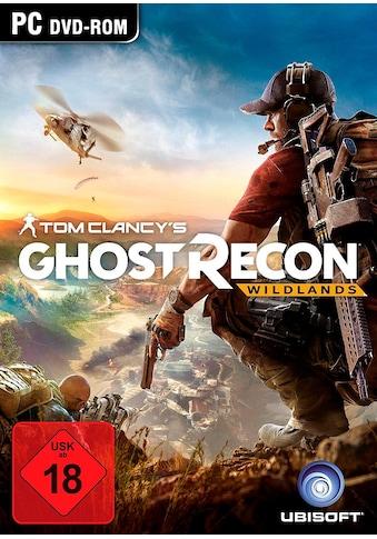 UBISOFT Spiel »Tom Clancy's: Ghost Recon Wildlands«, PC, Software Pyramide kaufen