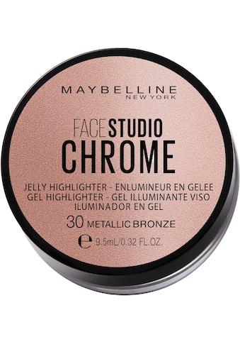MAYBELLINE NEW YORK Highlighter »Facestudio Chrome Jelly« kaufen