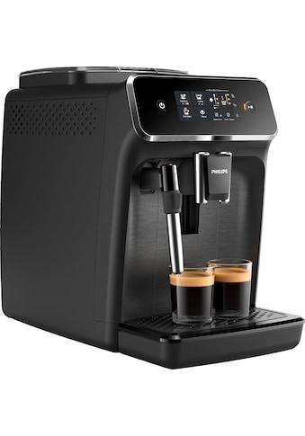 Philips Kaffeevollautomat »2200 Serie EP2220/10 Pannarello, mattschwarz« kaufen