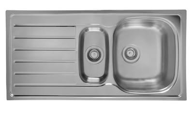 Schock Edelstahlspüle »Hypno«, mit Restebecken, 100x50 cm kaufen