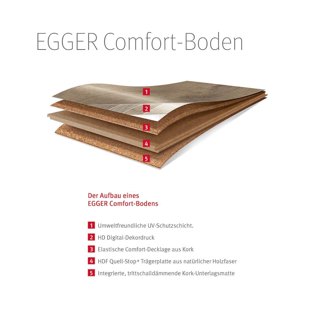 EGGER Korklaminat »Comfort EHC024 Fortland Eiche braun«