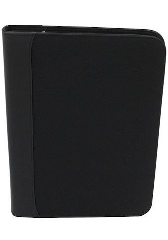 Friedrich23 Schreibmappe »DIN A4, 35 cm, schwarz«, mit Taschenrechner kaufen