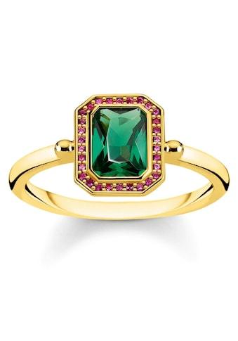 THOMAS SABO Fingerring »Steine rot & grün Gold, TR2264-973-7-52, 54, 56, 58, 60«, mit... kaufen