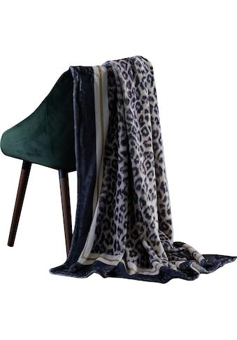 APELT Plaid »Leon«, edles Design in Leopardenoptik kaufen