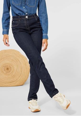 Cecil Stretch-Jeans »Style Toronto«, mit Kontrastnähten kaufen