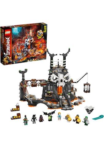 """LEGO® Konstruktionsspielsteine """"Verlies des Totenkopfmagiers (71722), LEGO® NINJAGO®"""", Kunststoff, (1171 - tlg.) kaufen"""